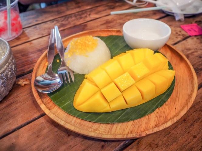 Mango Sticky Rice - O que comer em Bangkok