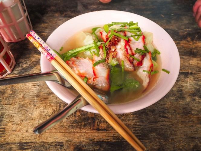 Noodles de café da manhã - Onde comer em Bankok