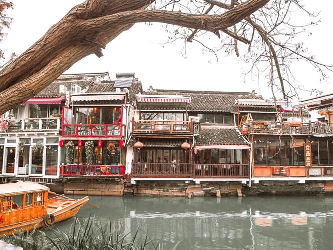 O que fazer em Xangai - cidade aquática Zhujiajiao