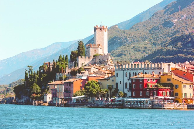 Quanto custa morar na Itália - Malcesine no Lago di Garda