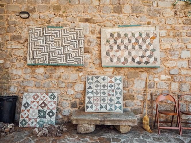 Pequenas preciosidades: os mosaicos da cidade antiga de Bar