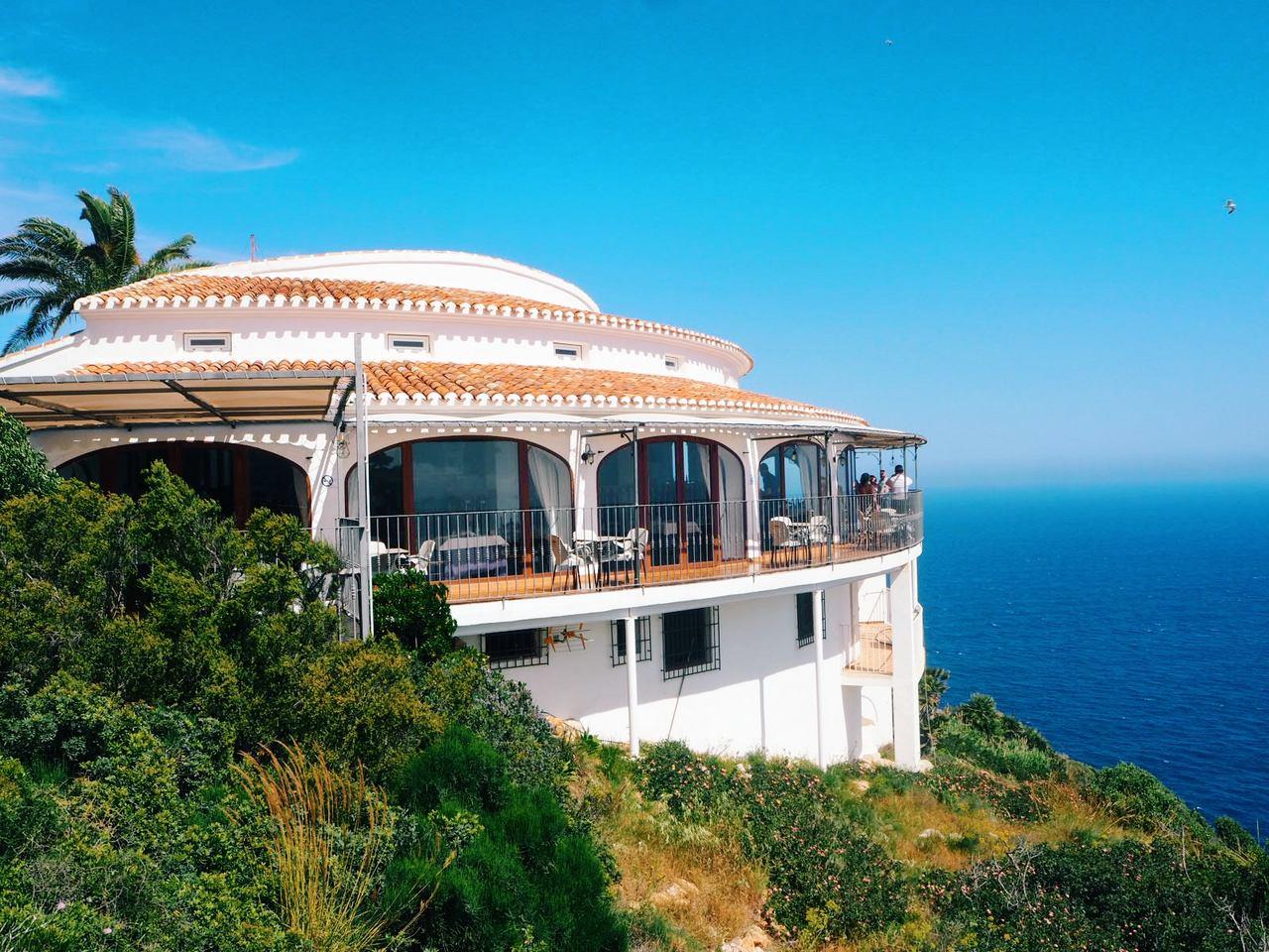 Vista do Restaurante Mirador de Jávea - Costa Blanca