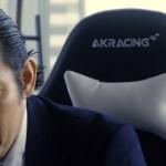 ドラマ「ハゲタカ」4話でAKRACING(エーケーレーシング) ゲーミングチェア の登場に驚き!