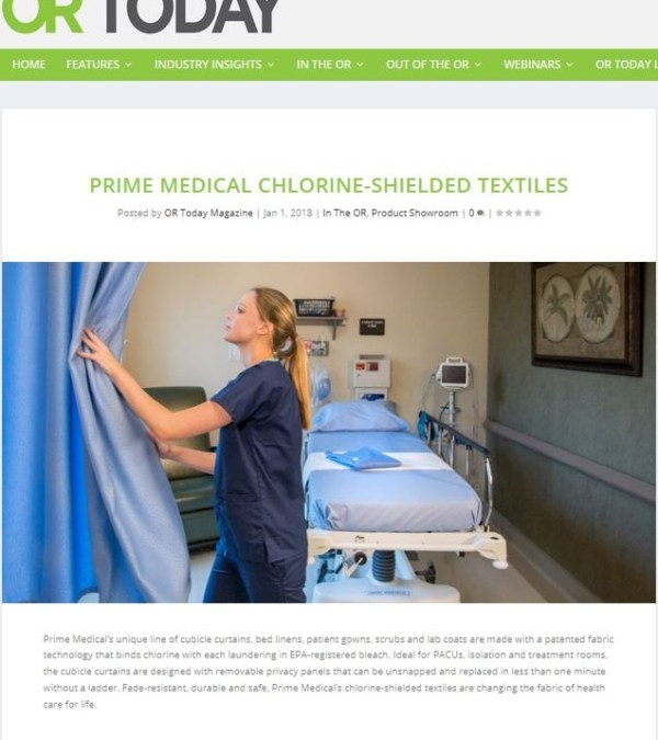 Prime Medical featured in OR Today