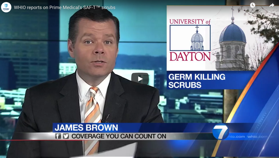 University of Dayton Germ Killing Scrubs