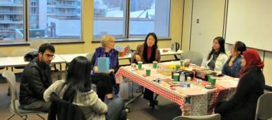 PMC Alumni Gathering 2015 discussion