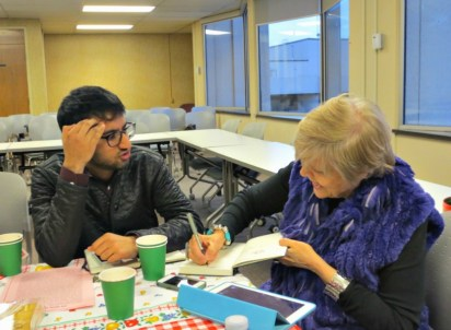 PMC Alumni Gathering 2015 writing