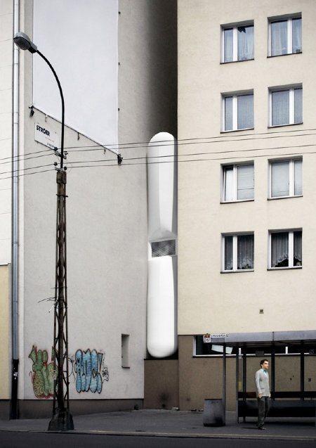 thinnest house