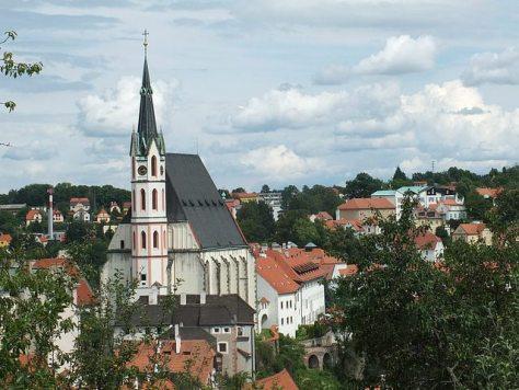 Český Krumlov.