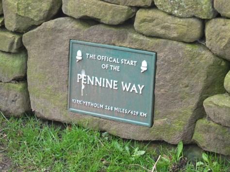 Pennine Way Trailhead