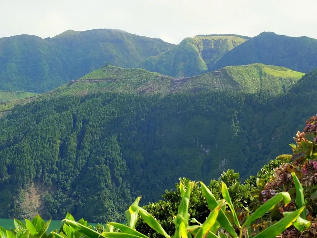 Steep Slopes of Caldeira Seca