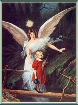 angel-guarding-protecting-little-girl-on-bridge