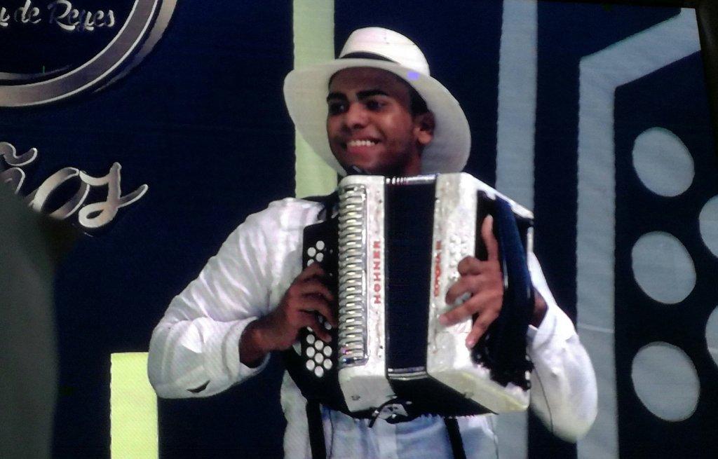 Rey Vallenato Aficionado José Juan Camilo Guerra. Ganadores del Festival Vallenato