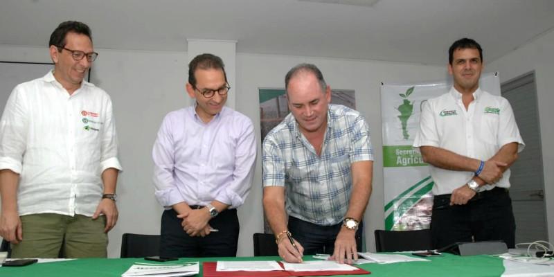 CONVENIO GOBERNACIÓN Y MINISTERIO DE AGRICULTURA_PRIMERALÍNEA