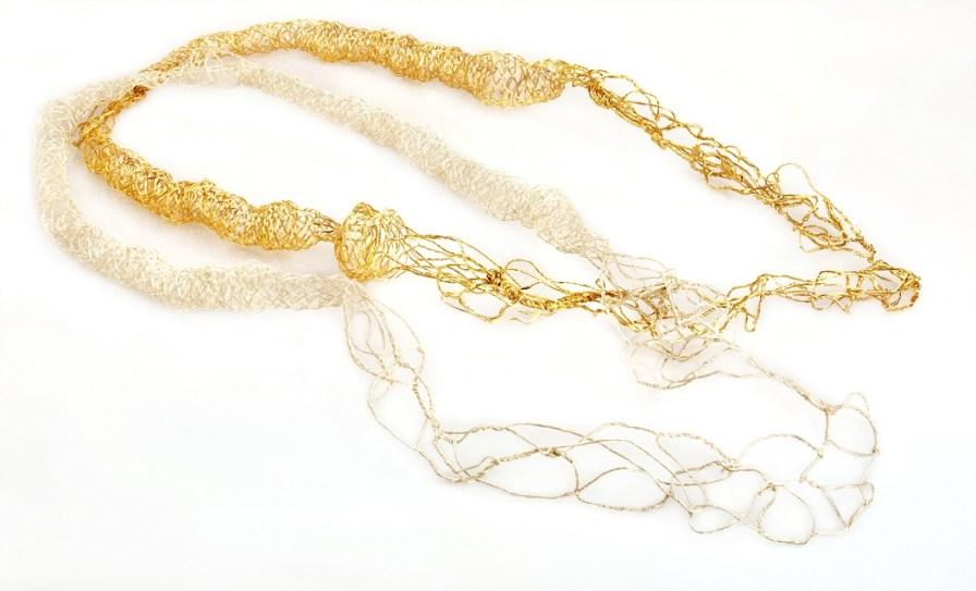 collar largo redes