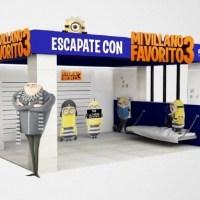 """Abasto Shopping invita a jugar con los Minions en el espacio que recrea la película """"Mi Villano Favorito 3"""""""
