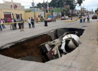 Peligro de hundimientos en 20 colonias de Madero