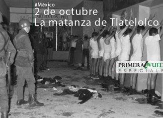 2 de octubre, la matanza de Tlatelolco