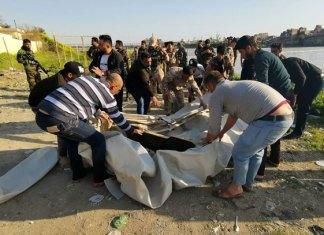 71 muertos al hundirse un ferri en el río Tigris