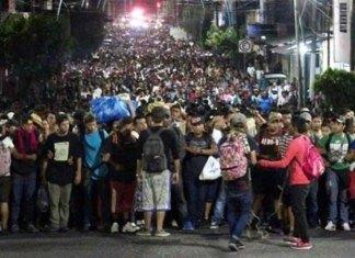Suman más de 7 mil migrantes en Chiapas
