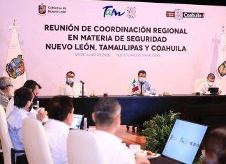 Fortalecen Gobernadores del noreste estrategia regional de Seguridad Pública