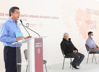 Francisco G. Cabeza de Vaca solicita a AMLO atender problemática del agua