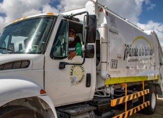 Matamoros termina el año con mayor equipamiento en Limpieza Pública