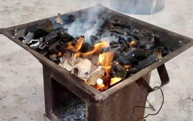 Riesgoso encender fogatas dentro de casa