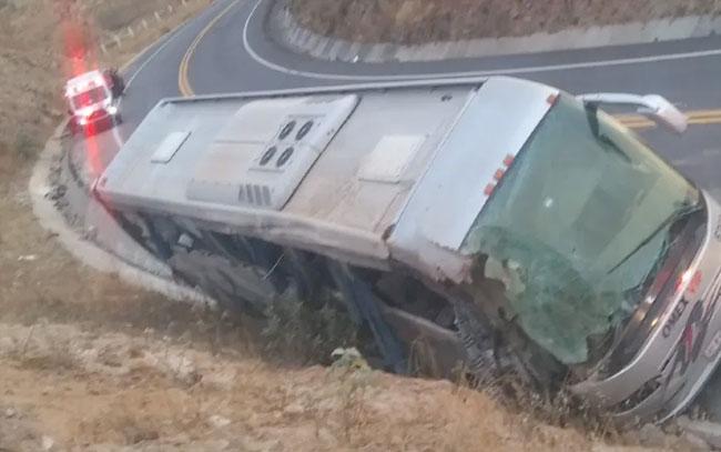 Accidente carretero en Acambay, Edomex, deja siete muertos