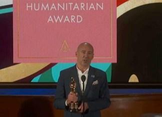 Dedican Premio Humanitario a médicos en los Oscar