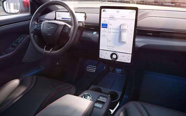 Nuevo enfoque de diseño cambia visibilidad para Mustang Mach-E