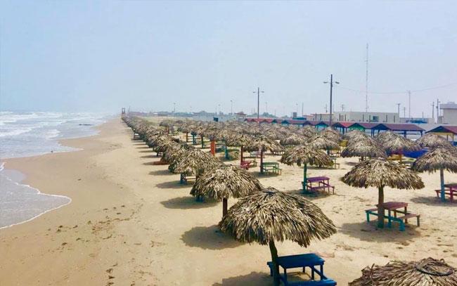 Nuevos horarios y capacidades en playas de Tamaulipas
