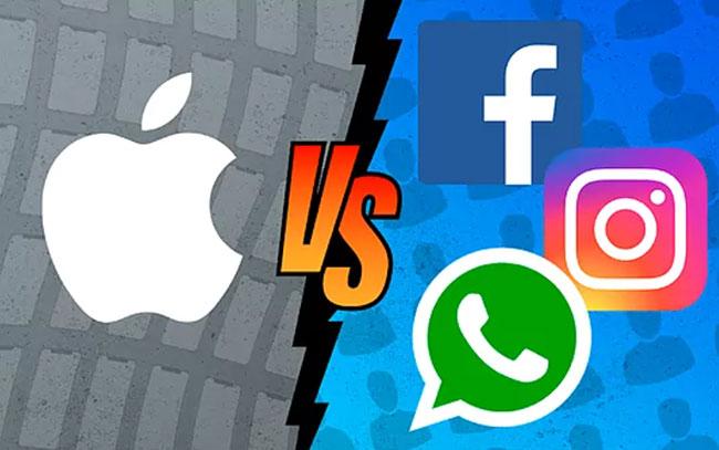 Facebook advierte que Apple hará daño
