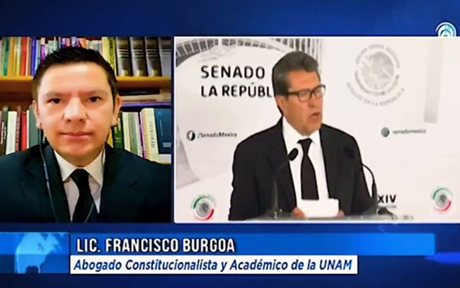 Refuta abogado constitucionalista a Monrreal