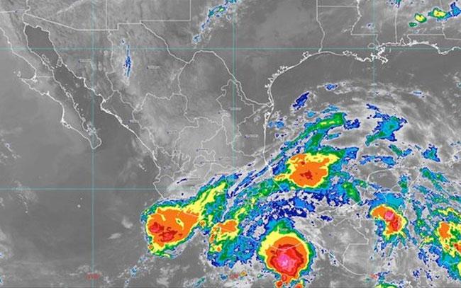 Continúan las lluvias fuertes en estos estados del país