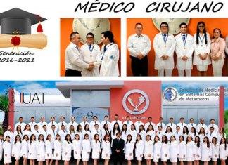 Entrega UAT en Matamoros una nueva generación de médicos cirujanos