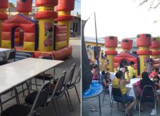 Mujer publica invitación a fiesta de sus hijos en Facebook por falta de asistentes