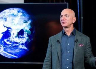 Subastan viaje al espacio con Jeff Bezos por 28 millones de dólares