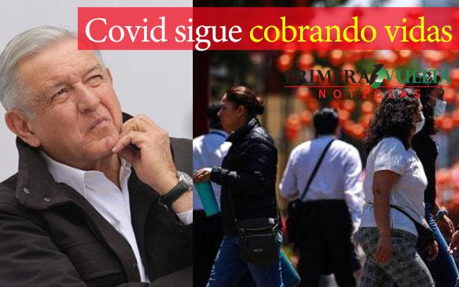 Covid sigue cobrando vidas