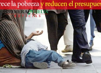 Crece la pobreza y reducen el presupuesto