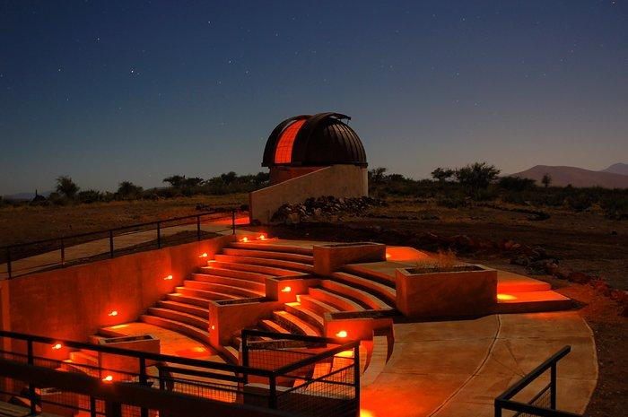Observatorio Cruz del Sur. Imagen: ESO.