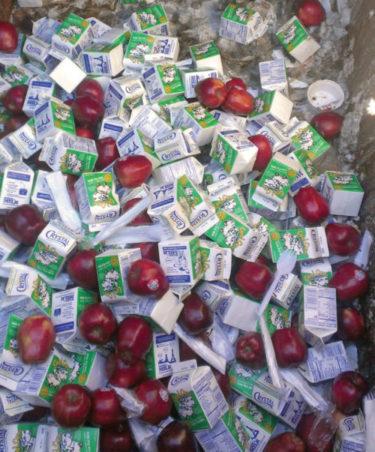 Food Waste - Milk Cartons
