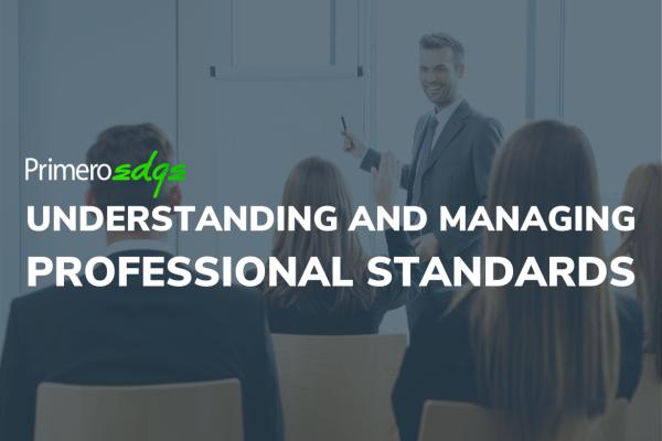 Understanding and Managing Professional Standards Webbie