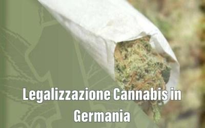 Legalizzazione Cannabis in Germania