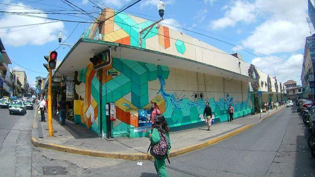 Restauraran mural del mercado jauregui