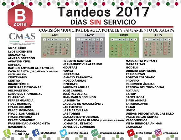 CMAS_XALAPA TANDEOS FINAL ZONA B