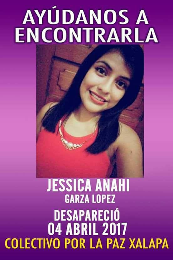 Desaparecida Jessica Anahí