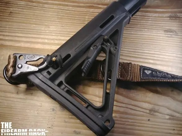 Magpul MOE Stock Mounted With Sling