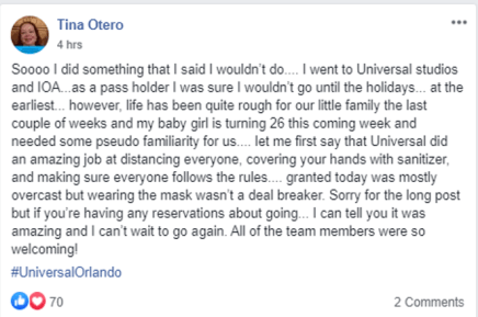 Universal Studios Opinion Coronavirus 2