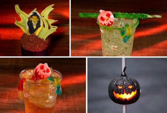 bebidas halloween disney